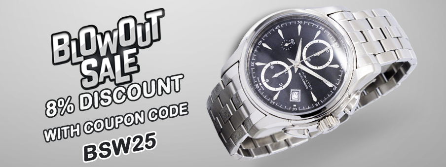 Blowout sale on watches with free worldwide shipping.