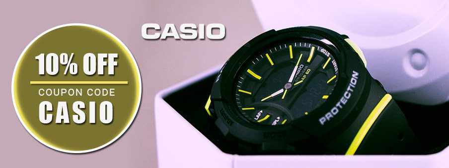 Casio watches on sale with free shipping worldwide