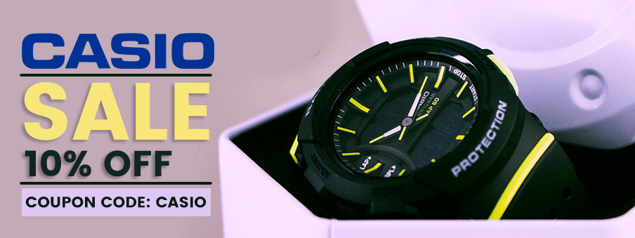 Casio watches sale: Substantial accessories at unbelievable price points