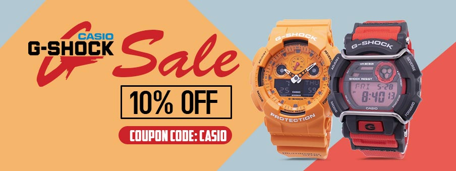 G-Shock Watches Sale For Men and Women