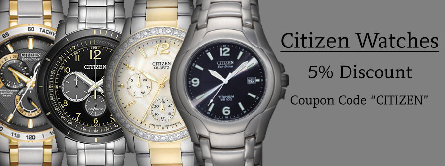 Citizen watches on sale with Free worldwide shipping