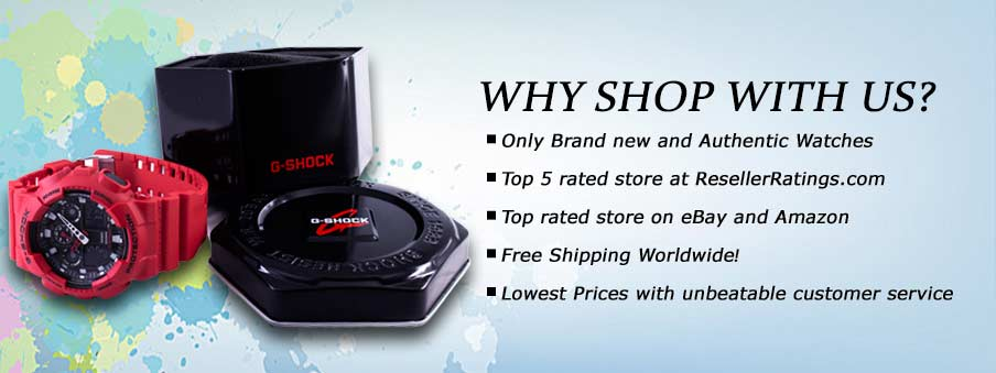 Find why ours is The Best Online Store for Watches