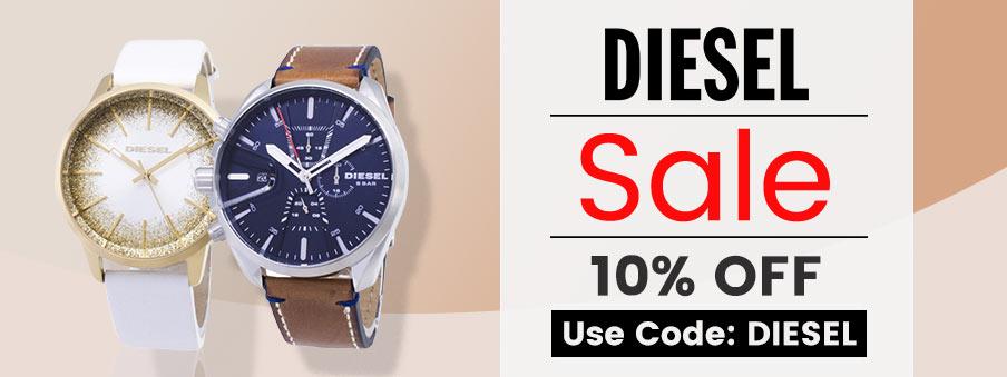 Diesel Watches on sale