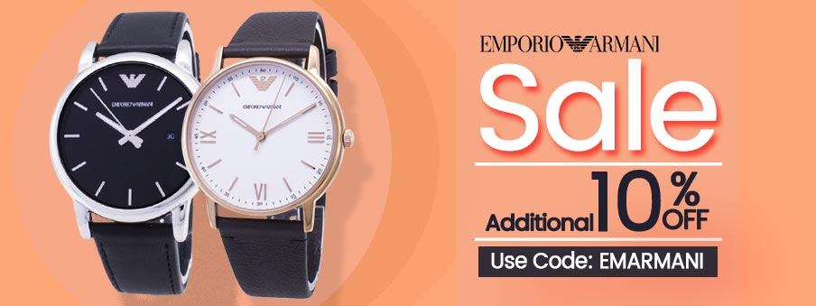 Emporio Armani Watches on sale