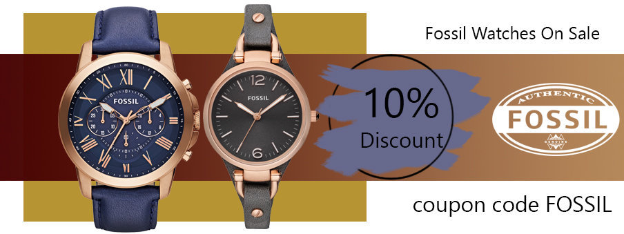 Fossil watches on sale with Free Worldwide Shipping