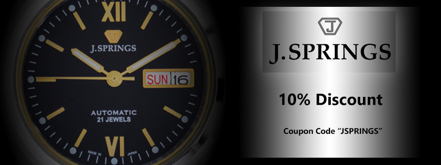 J.springs watches on sale, Free Worldwide Shipping