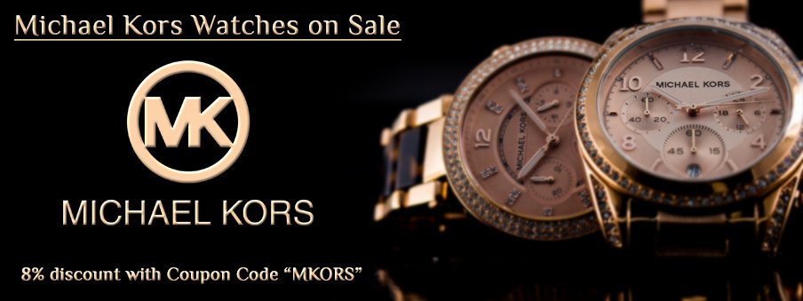 Michael kors watches on sale with free worldwide shipping.