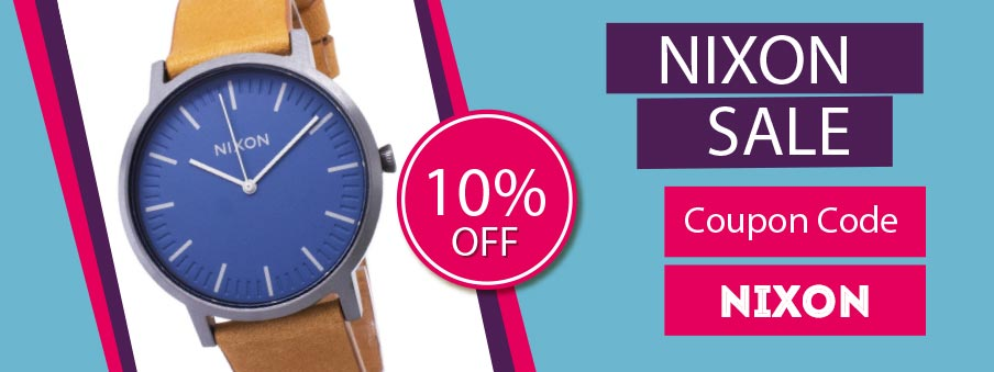 Nixon watches on sale with free shipping worldwide