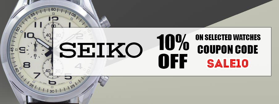 Seiko watches on sale with free worldwide shipping