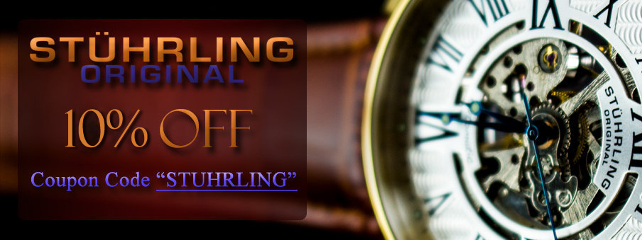 Stuhrling Original watches on sale with Free worldwide shipping