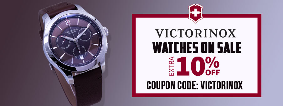Victorinox watches on sale with free worldwide shipping