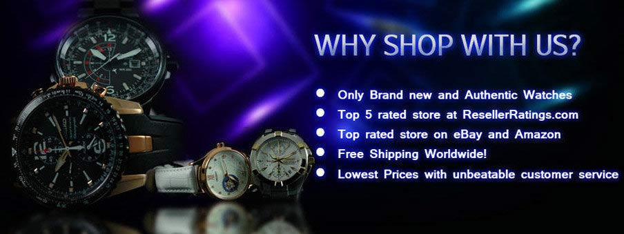 Find why ours is The Best Online Store for Watches.